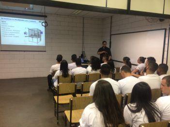 """Que aconteceu no SENAI """"Celso Charuri"""" – Unidade Rafard em 14 de setembro."""