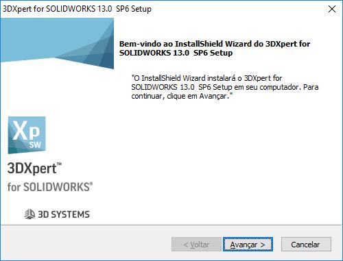 Ao iniciar o instalador clique em avançar.