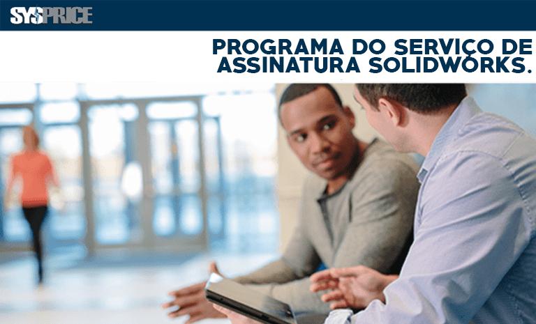 Programa do serviço de assinatura solidworks